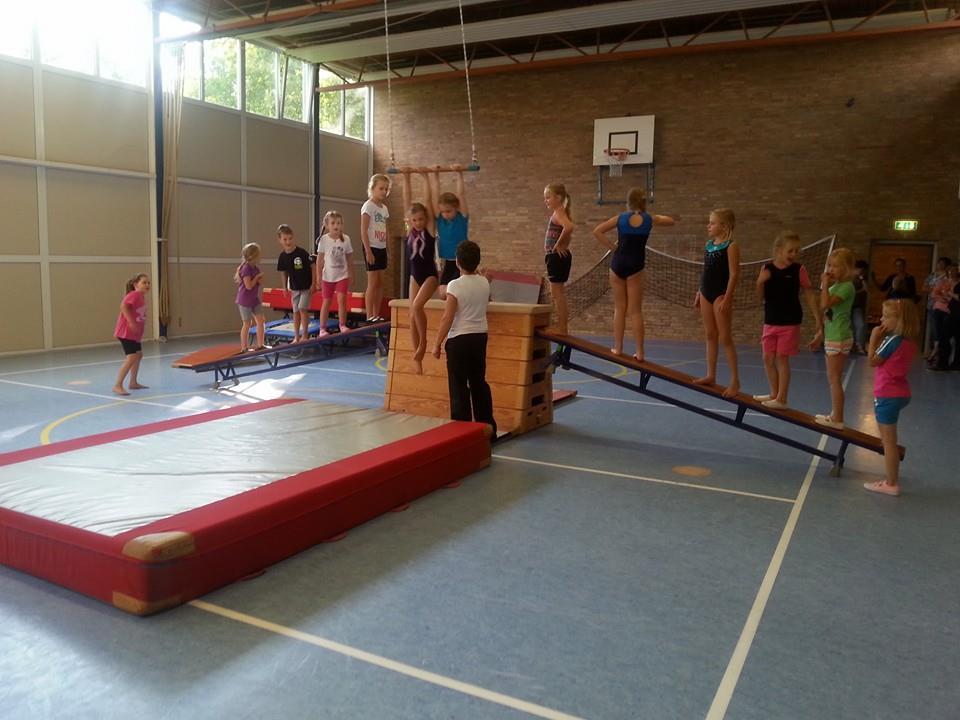 gymnastiek voor kinderen
